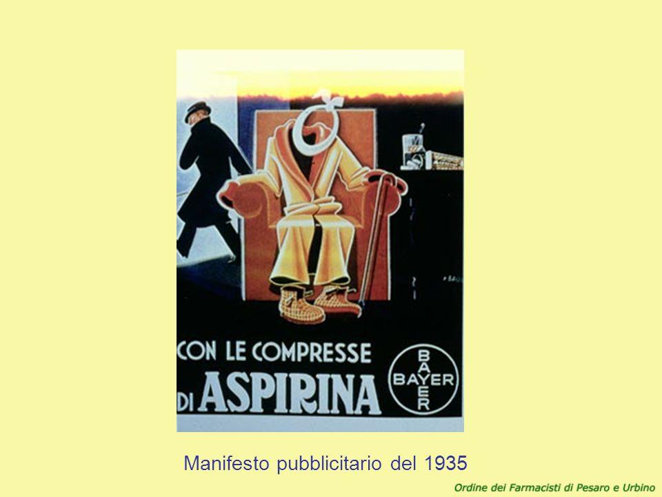 Manifesto pubblicitario del 1935