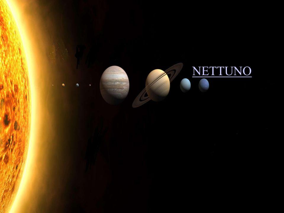 Diametro: DATI PRINCIPALI 45000 km Massa: 17 volte quella della Terra Densità:1,58 kg al dm³ È gassoso.