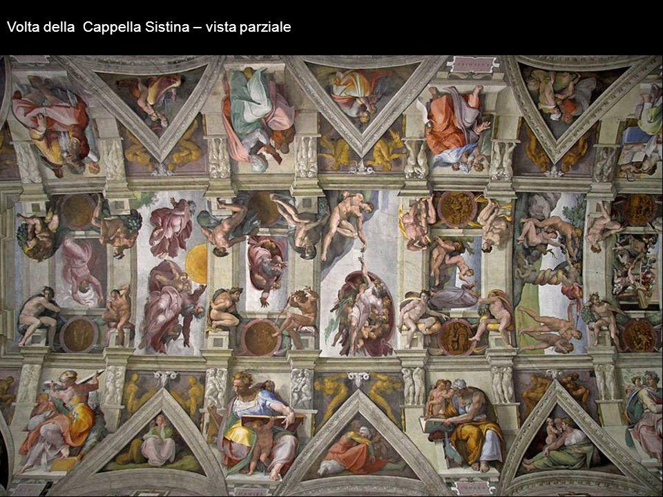 Il Giudizio Universale Iniziato nel1535 e terminato nel 1541. Nonostante la bellezza della composizione, il fatto che lartista avesse rappresentato nu