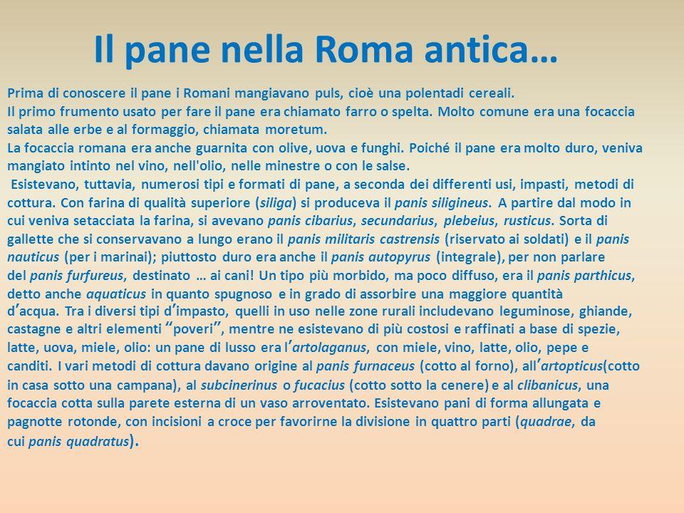 Cibo e cultura I Romani attribuivano grande importanza alla dimensione simbolica del cibo, privilegiando nei continui interventi di moralizzazione sociale le usanze alimentari più che le pratiche sessuali, bersaglio principale di altri popoli.