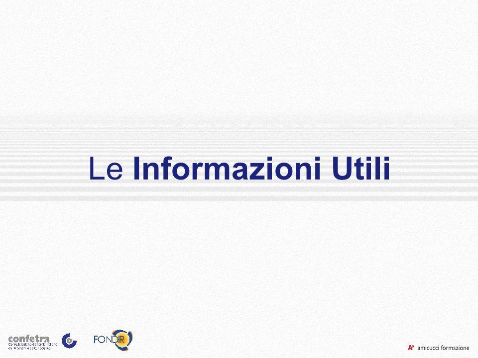 Le Informazioni Utili