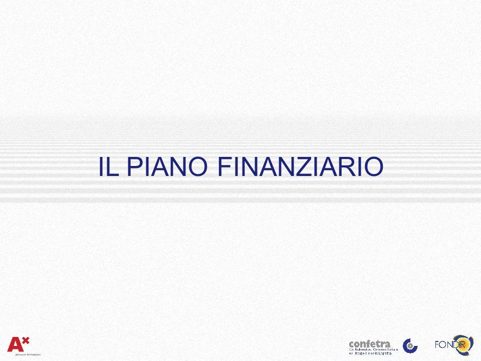Le Informazioni Utili IL PIANO FINANZIARIO