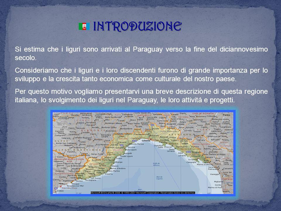 LA LIGURIA La Liguria è a una regione piuttosto piccola, a forma di arco, lungo e stretto, che va da ovest (Riviera di piemonte) a est (Riviera di Levante), aperto sul mar Ligure.