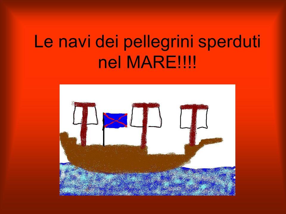 Le navi dei pellegrini sperduti nel MARE!!!!