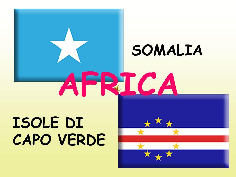 SOMALIA ISOLE DI CAPO VERDE AFRICA