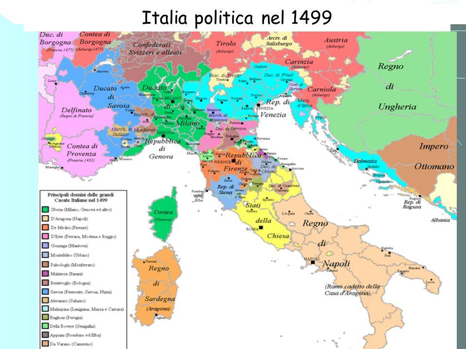 2 Il Ducato di Savoia paragonato agli at- tuali confini politici di Italia e Francia. 1