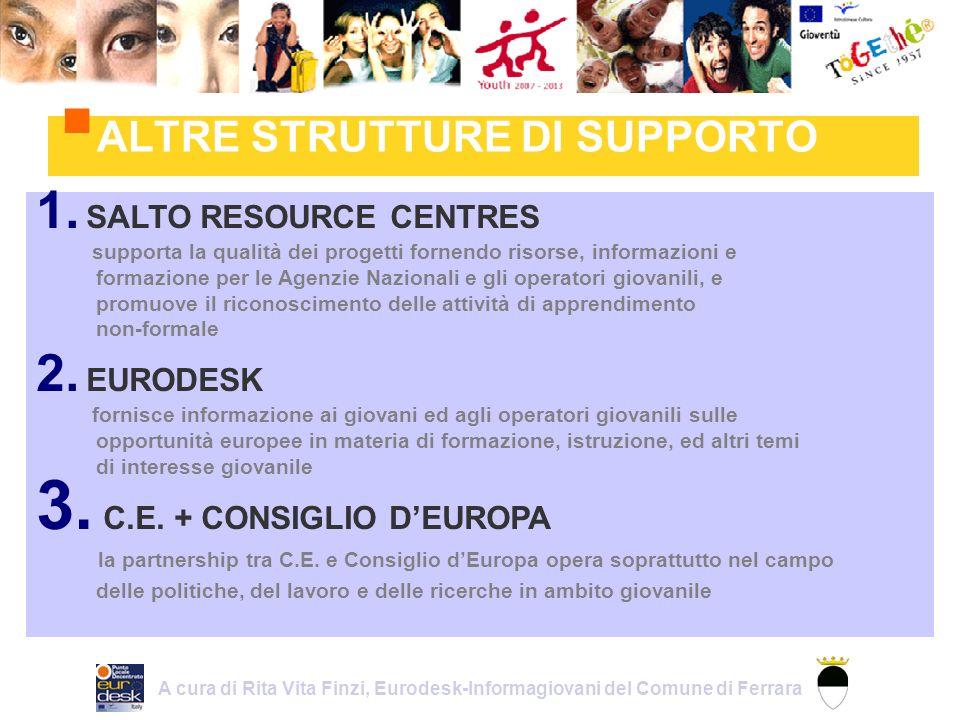 ALTRE STRUTTURE DI SUPPORTO 1.