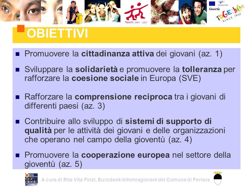 1.Cittadinanza europea 2. Partecipazione dei giovani alla vita democratica 3.