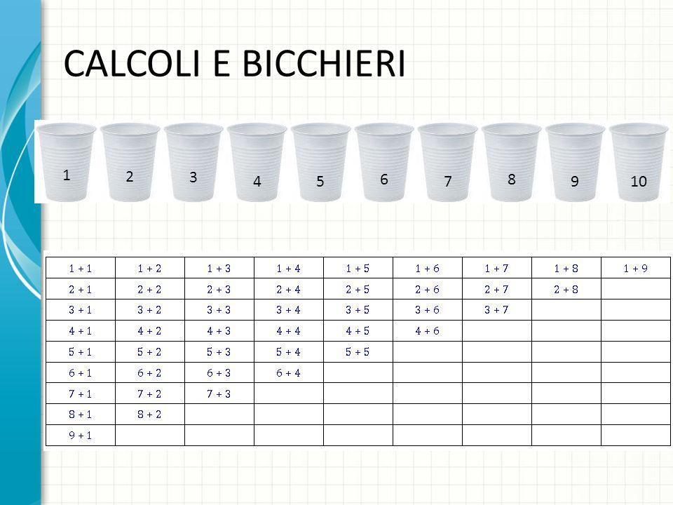 CALCOLI CHE FANNO 4 + 3 7 FRONTE RETRO