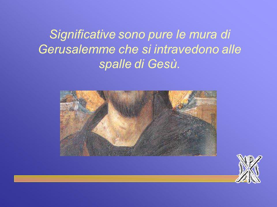 La fascia doro è simbolo della regalità di Cristo, mentre il colore blu della tunica è utilizzato come simbolo della misericordia e dellAmore di Dio per gli uomini.