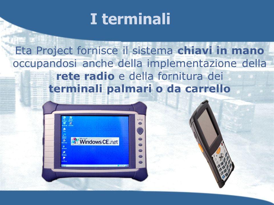 I terminali Eta Project fornisce il sistema chiavi in mano occupandosi anche della implementazione della rete radio e della fornitura dei terminali pa