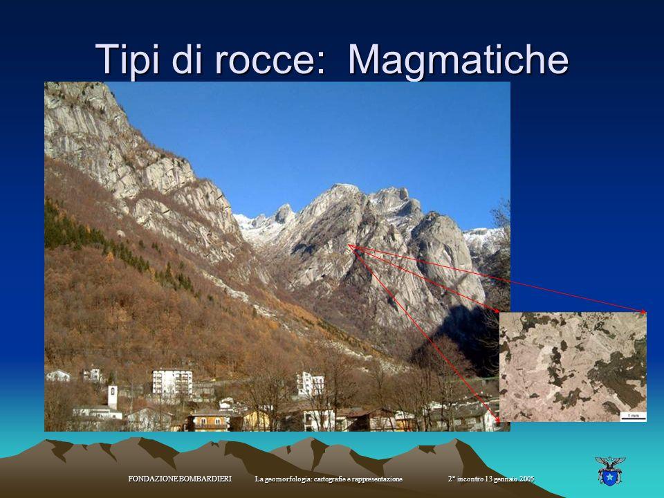 Effetti indotti dall orogenesi Corrugato ed innalzato la crosta terrestre Modificato la struttura delle rocce (metamorfismo dinamico e di contatto) Av