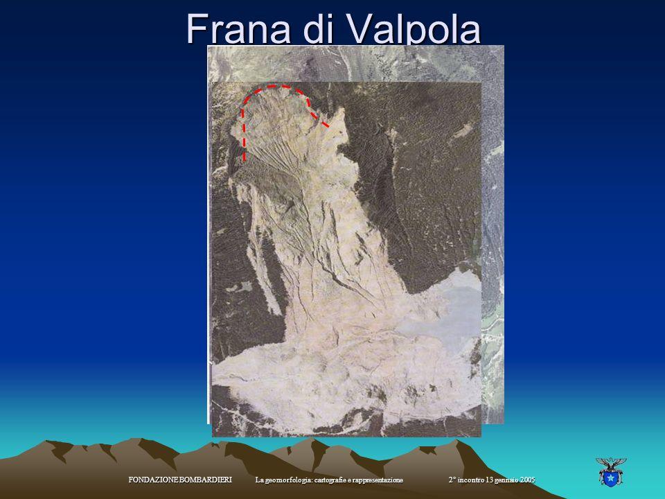 FONDAZIONE BOMBARDIERI La geomorfologia: cartografie e rappresentazione 2° incontro 13 gennaio 2005 Sakungen