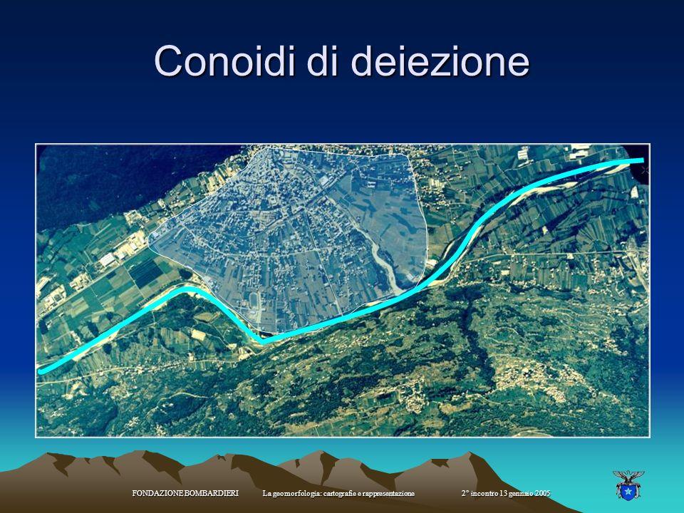FONDAZIONE BOMBARDIERI La geomorfologia: cartografie e rappresentazione 2° incontro 13 gennaio 2005 Pieghe