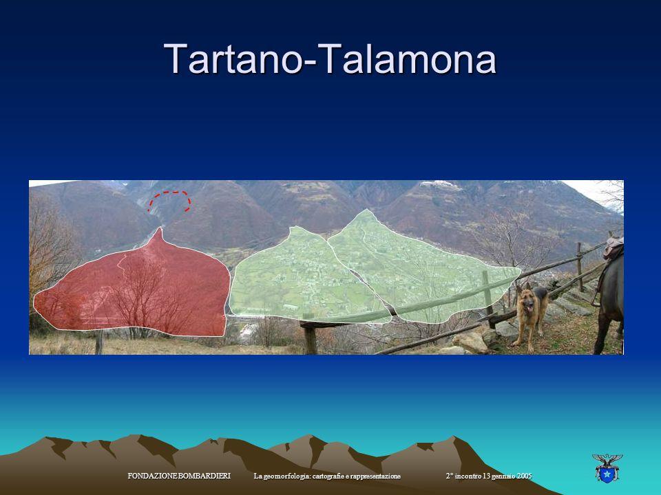 FONDAZIONE BOMBARDIERI La geomorfologia: cartografie e rappresentazione 2° incontro 13 gennaio 2005 conoidi