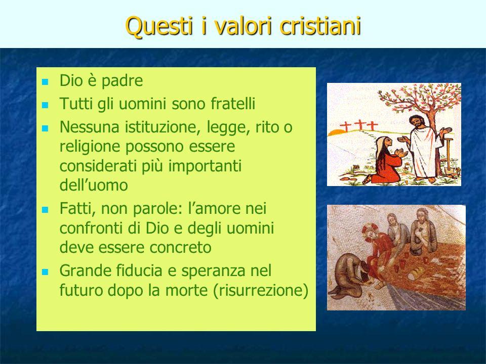 Cosa caratterizza il cattolicesimo.1.