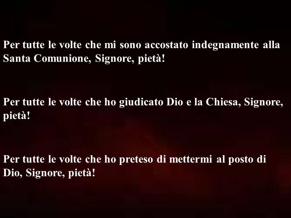 SECONDA STAZIONE: GESÙ È CARICATO DEL PESANTE LEGNO DELLA CROCE Ti adoriamo, Cristo, e ti benediciamo, perché con la Tua Santa Croce hai redento il mondo.