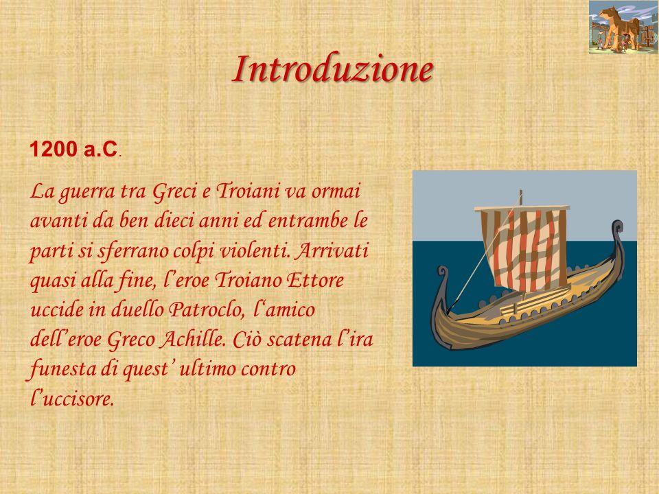 Lincontro Ettore, per lultima volta, cammina verso Achille al di fuori delle mura di Troia.