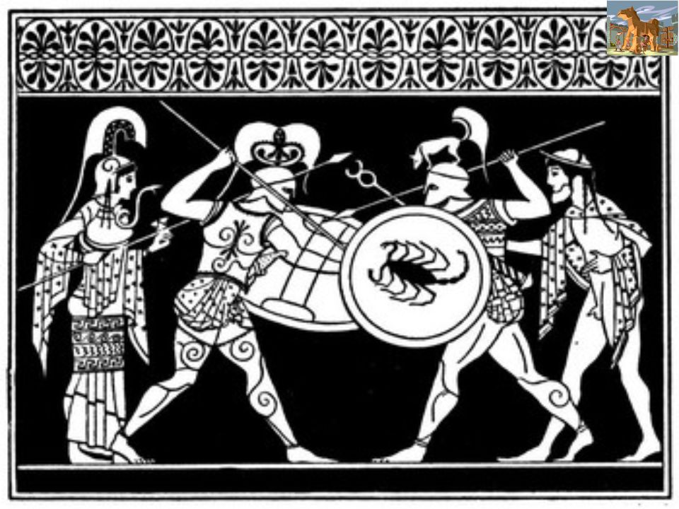 La morte di un eroe Lira e la potenza di Achille non perdonano nessuno, neppure i principi.
