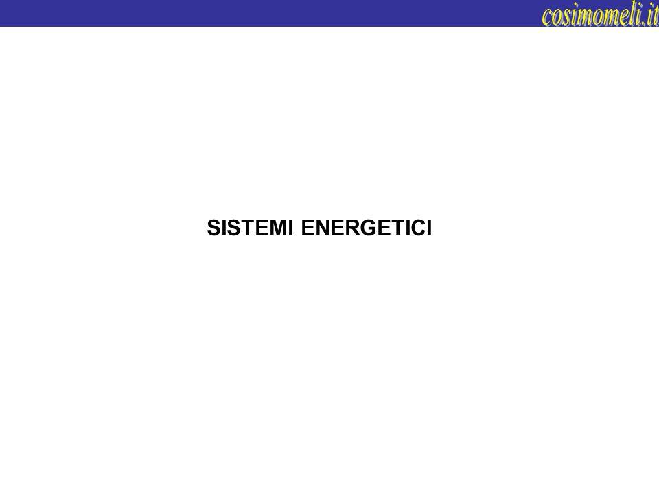 SISTEMI ENERGETICI E TEMPO DI PRESTAZIONE