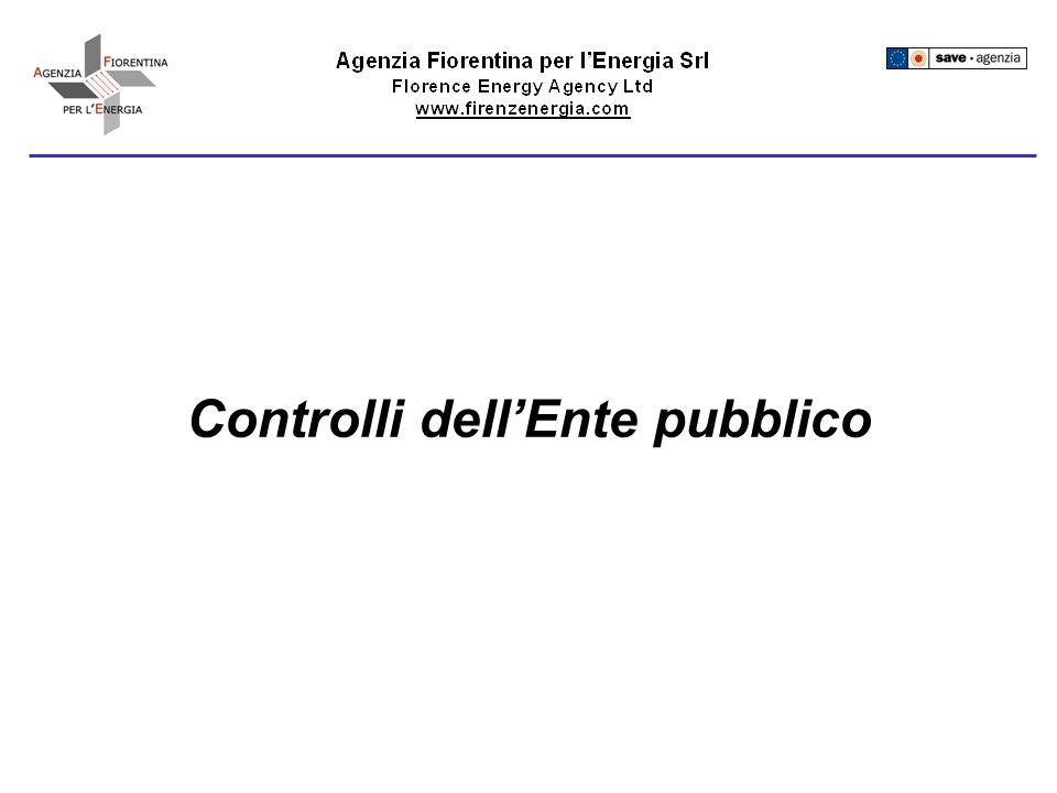 Controlli dellEnte pubblico