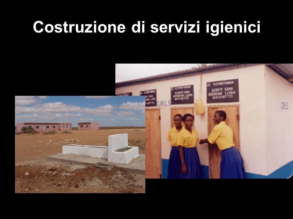 Costruzione di servizi igienici