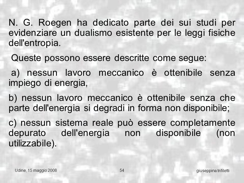 Udine, 15 maggio 200854 giuseppina trifiletti N. G.
