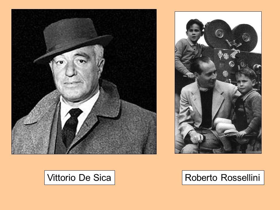 Roberto RosselliniVittorio De Sica