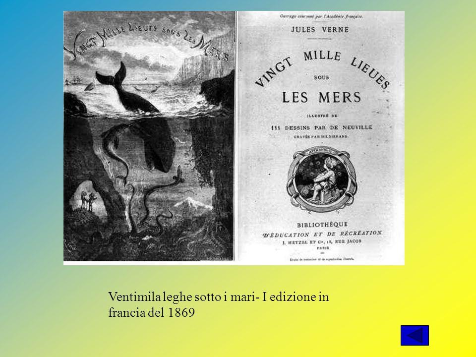 Ventimila leghe sotto i mari- I edizione in francia del 1869