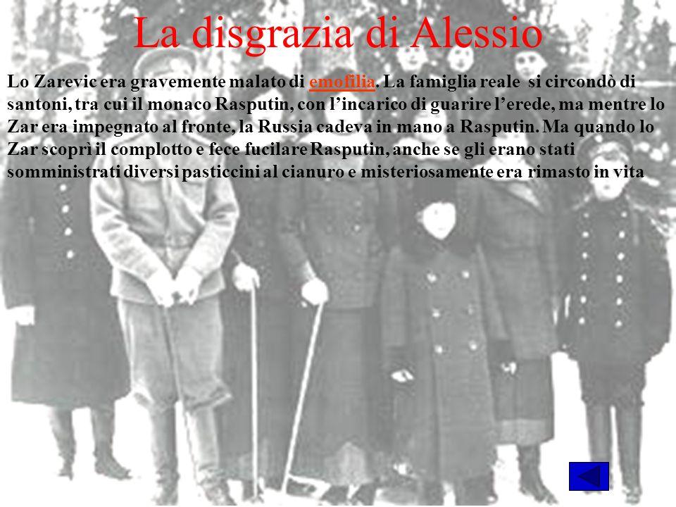 La disgrazia di Alessio Lo Zarevic era gravemente malato di emofilia.