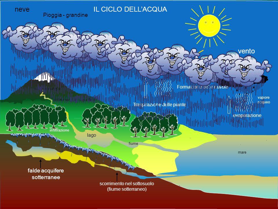 7 La molecola dellacqua si chiama IDROGENO OSSIGENO