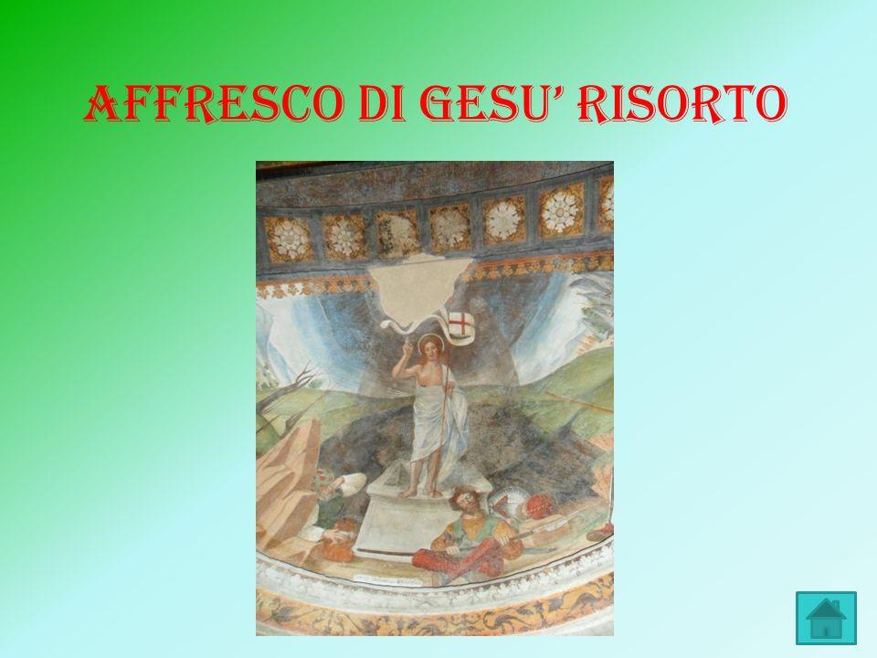 AFFRESCO DI GESU RISORTO