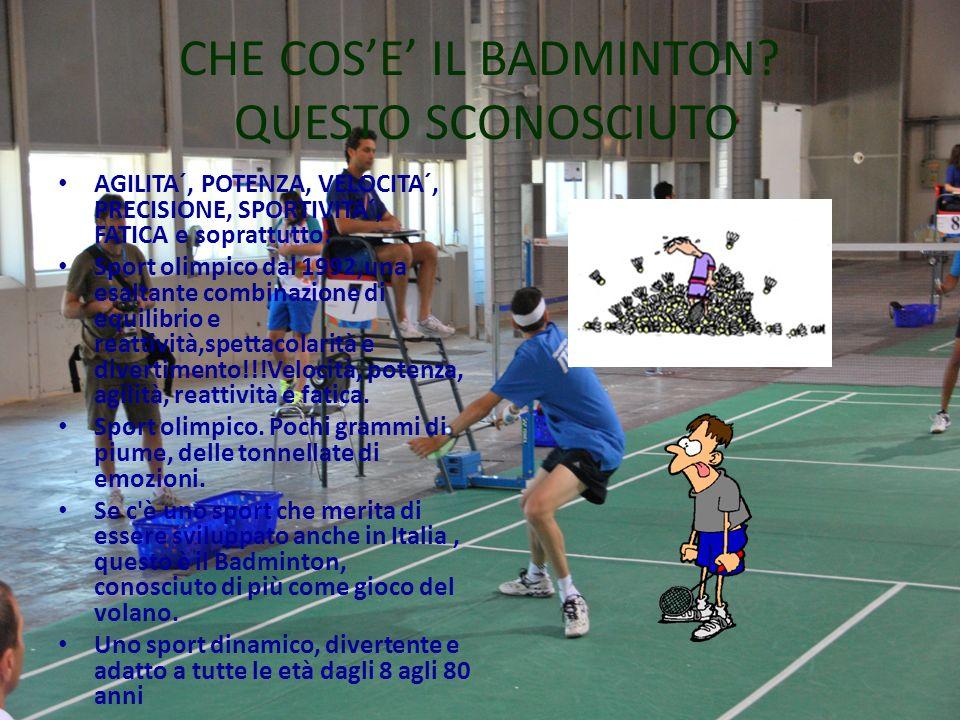 CHE COSE IL BADMINTON.