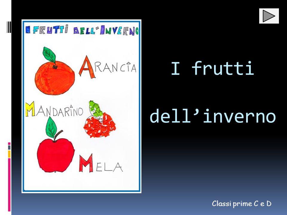 I frutti dellinverno Classi prime C e D