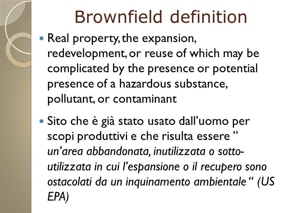 Disponibili a collaborare per trovare la soluzione più consona per ottenere un Greenfield da un pessimo Brownfield chiacchierato e contestato