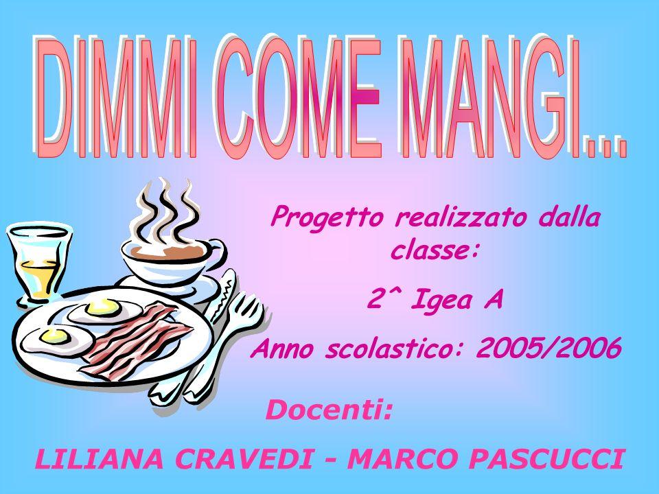 Progetto realizzato dalla classe: 2^ Igea A Anno scolastico: 2005/2006 Docenti: LILIANA CRAVEDI - MARCO PASCUCCI