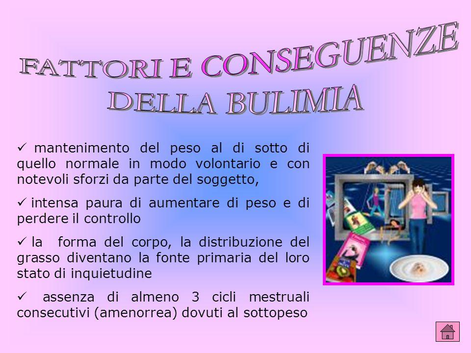La bulimia è la cosiddetta fame da bue. Detto in poche parole, una persona bulimica mangia in quantità smisurata e poi, sentendosi in colpa, cerca di