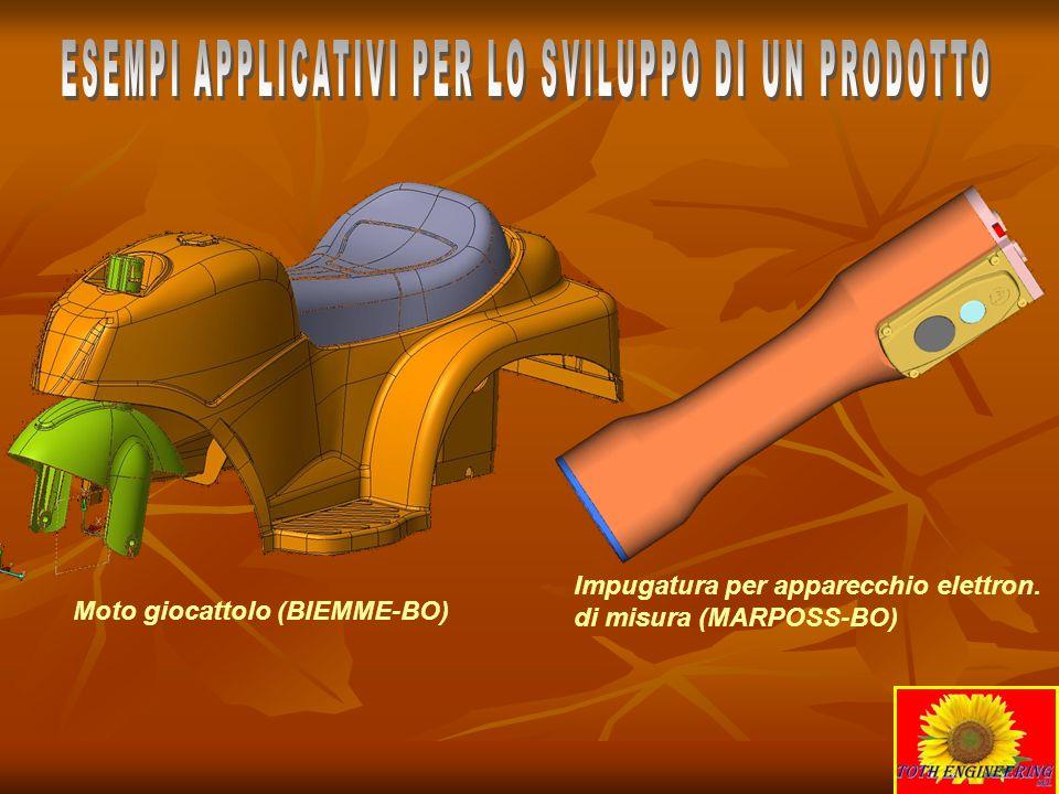 Moto giocattolo (BIEMME-BO) Impugatura per apparecchio elettron. di misura (MARPOSS-BO)