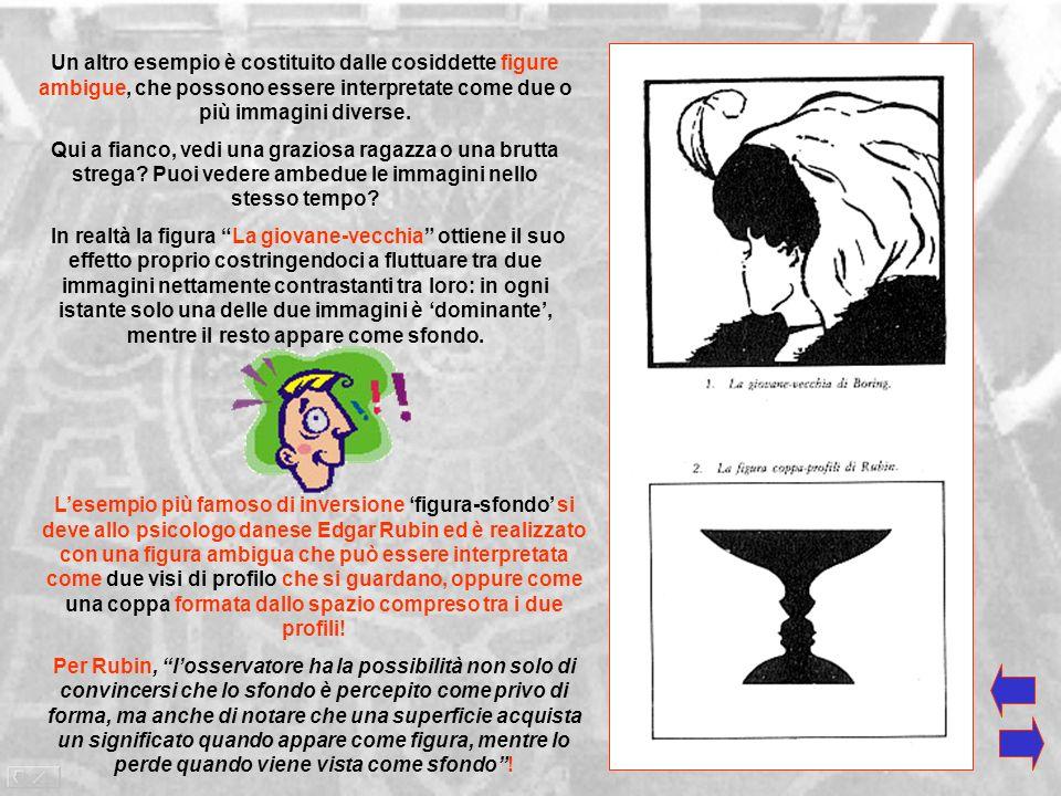 Ma troviamo esempi di paradossi anche nel linguaggio visivo, nelle cosiddette La geometria e le sue regole applicate al disegno ci permettono di rappr