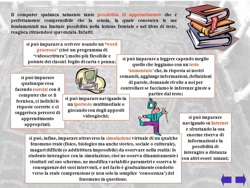 LINGUAGGIO, COMPUTER E SCUOLA Il computer è la più grande invenzione del Novecento. Un modo per rendersene conto è constatare quanto sia ampio il suo