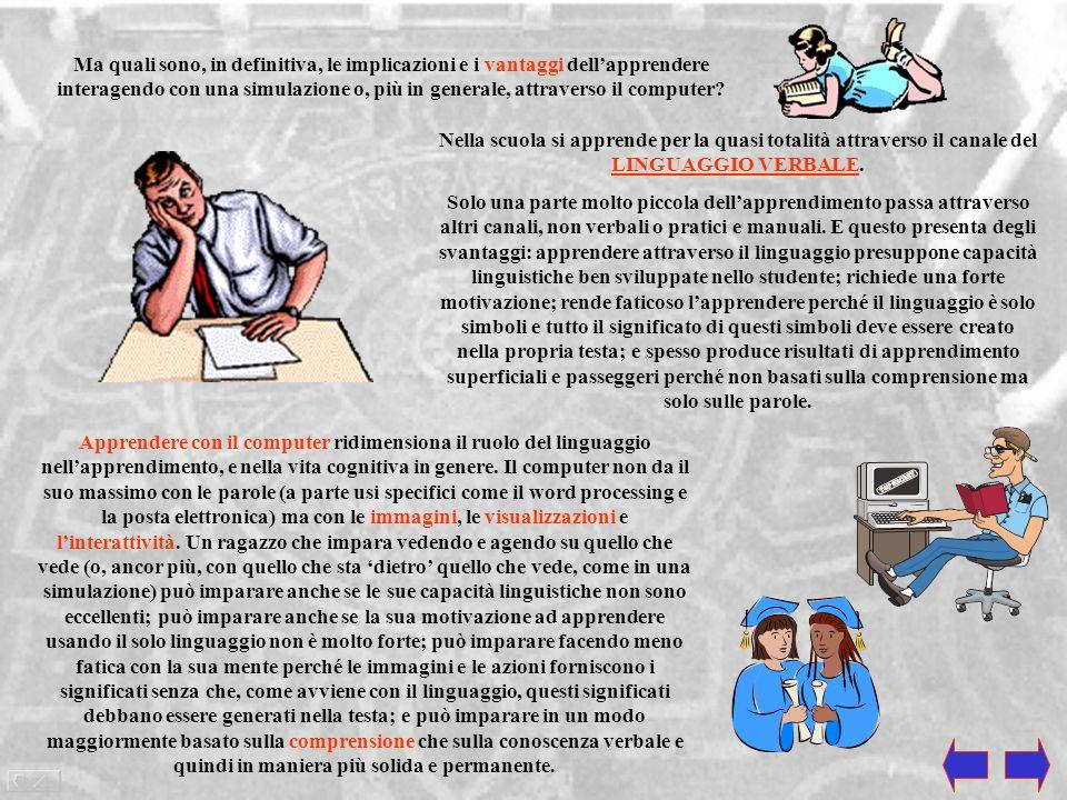 Il computer spalanca talmente tante possibilità di apprendimento che è perfettamente comprensibile che la scuola, la quale concentra le sue fondamenta