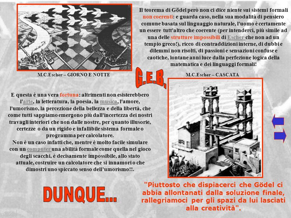 in Tre Sfere II, di M.C.Escher, ogni parte del mondo sembra contenere ogni altra parte ed esservi contenuta: lo scrittoio riflette le sfere che si trovano su di esso, le sfere si riflettono lun laltra, e inoltre riflettono lo scrittoio, la propria immagine e lartista che le disegna!