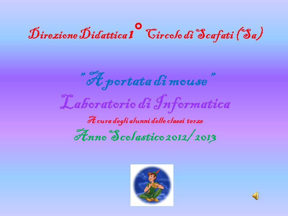 Direzione Didattica 1° Circolo di Scafati (Sa) A portata di mouse Laboratorio di Informatica A cura degli alunni delle classi terze Anno Scolastico 20