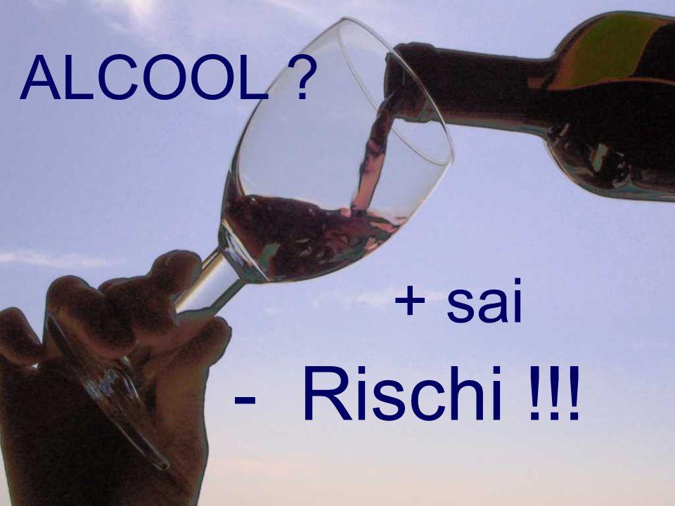 ALCOOL ? - Rischi !!! + sai