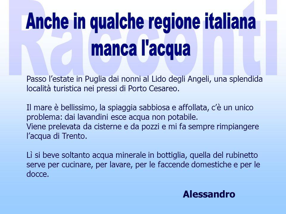 Passo lestate in Puglia dai nonni al Lido degli Angeli, una splendida località turistica nei pressi di Porto Cesareo.