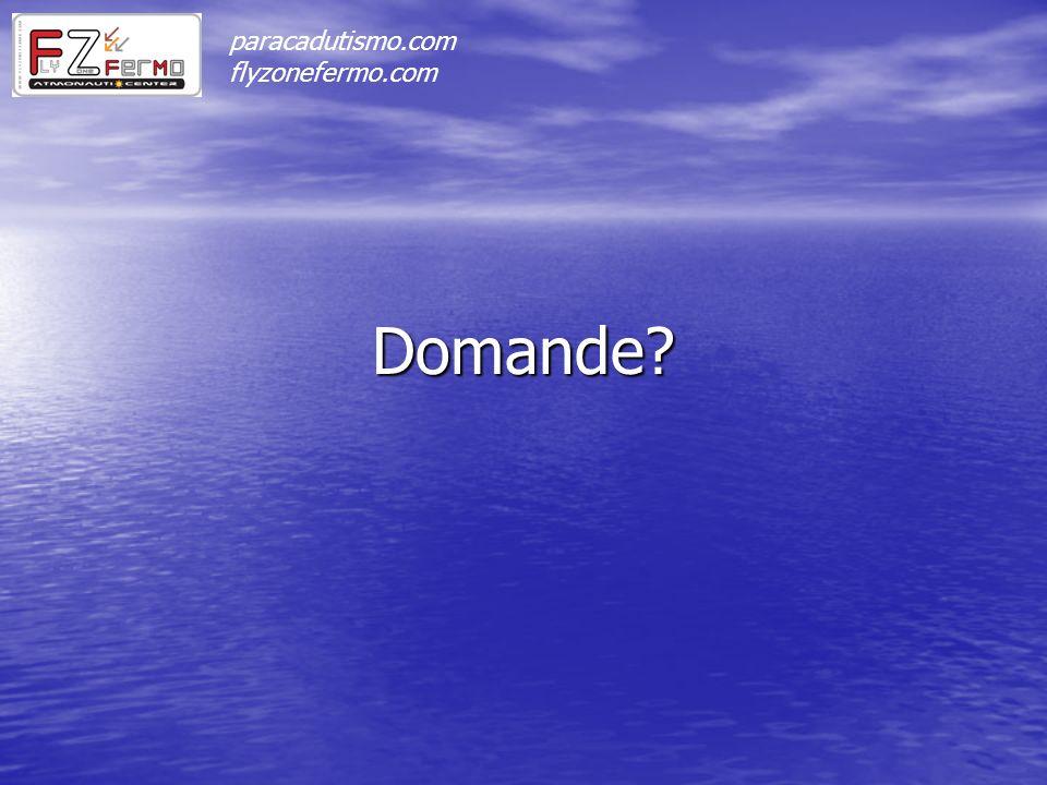 Domande? paracadutismo.com flyzonefermo.com