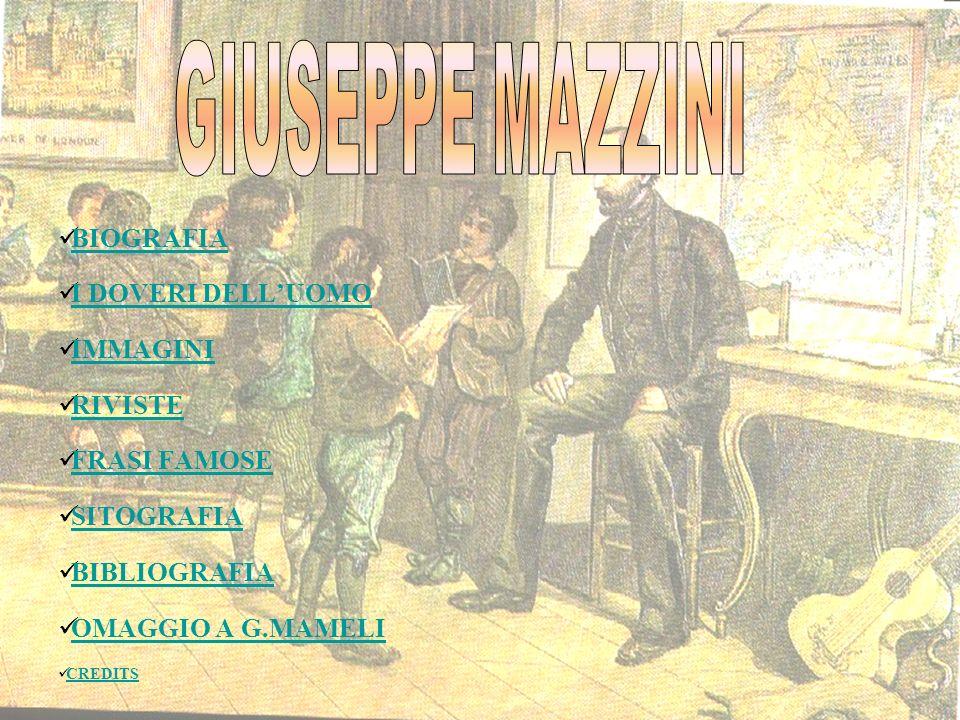 Nato a Genova il 22 maggio del 1805 da Giacomo, medico, professore universitario ex giacobino e da Maria Drago, donna di alta sensibilità morale e religiosa.