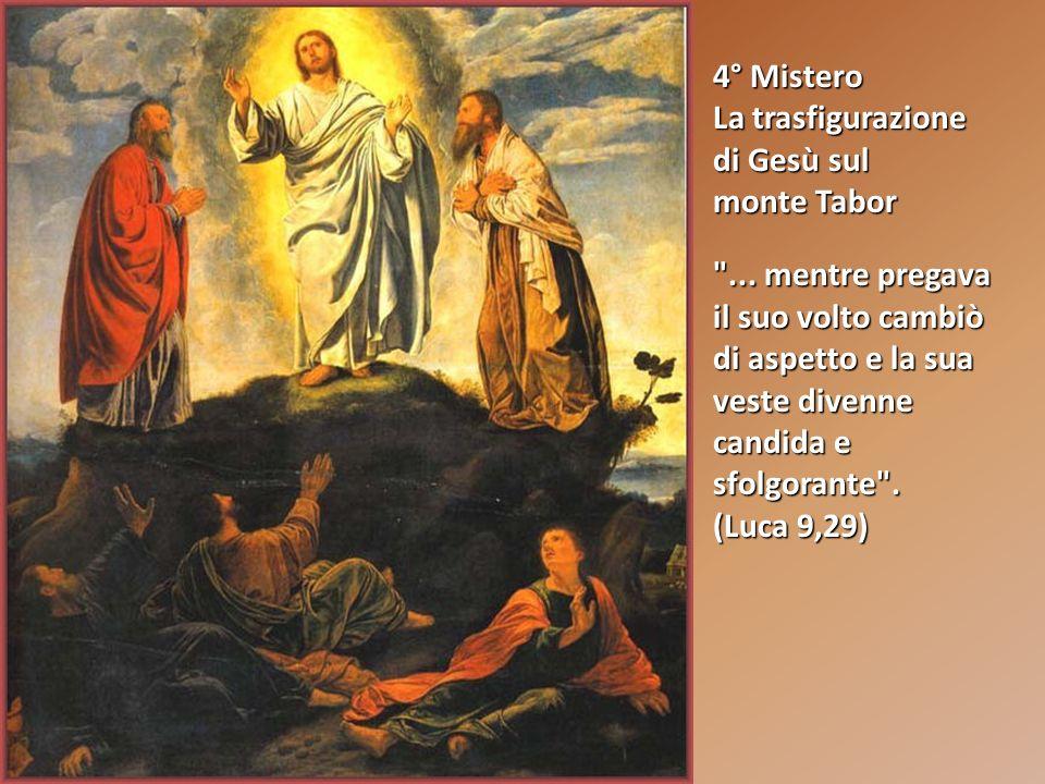3° Mistero Lannuncio del Regno di Dio e l invito alla conversione Il tempo è compiuto e il regno di Dio è vicino: convertitevi e credete al Vangelo .