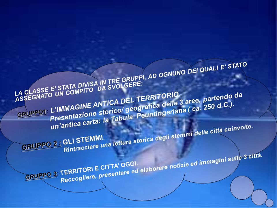 Il progetto Comenius prevede scambi culturali tra scuole dei Paesi della Comunità Europea. Attraverso lavori comuni si facilitano gli incontri, la rec