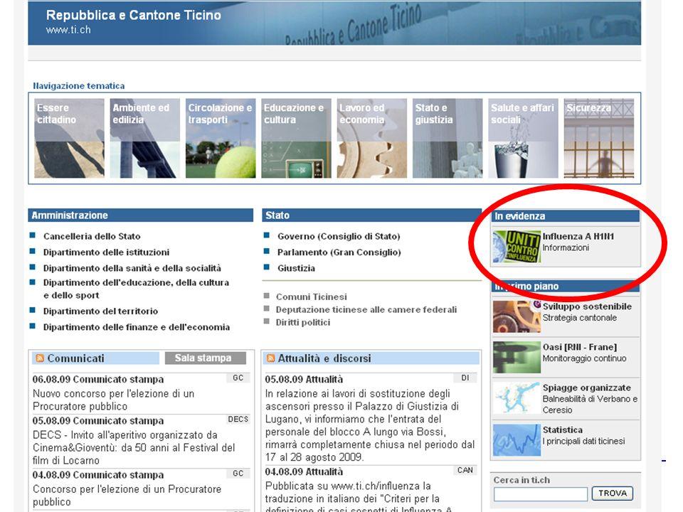 © Ufficio del medico cantonale Servizio di medicina scolastica – agosto 2009 38